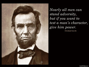 America will never be destroyed from the outside. If we falter and ...