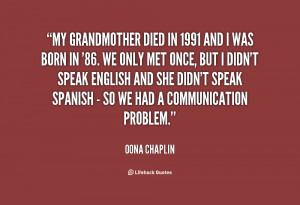 Grandmother Passing Away Quotes -my-grandmother-died-in-