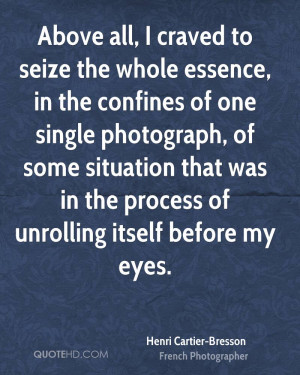 Henri Cartier-Bresson Photography Quotes