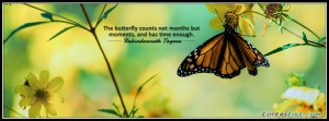 Butterfly Moments Facebook Timeline Cover