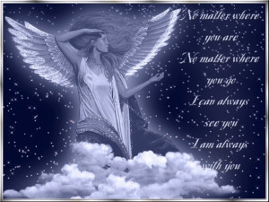 ... suspect that half of them are really their guardian angels