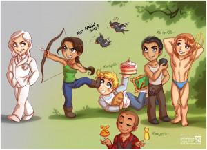 Hunger Games SD by daekazu