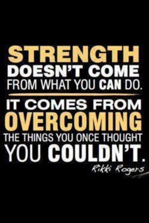 Strength ~ Rikki Rogers
