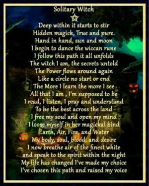 Wiccan Quotes And Poems. QuotesGram