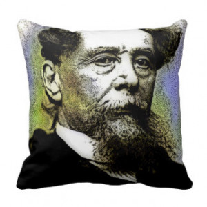 CHARLES DICKENS THROW PILLOWS