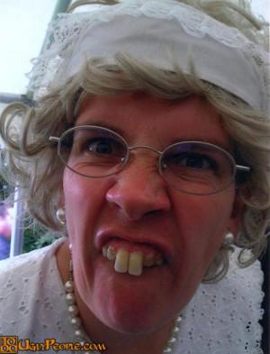 Ugly Woman With Bad Teeth People Weird Funny