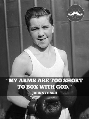 Johnny Cash Quote on God