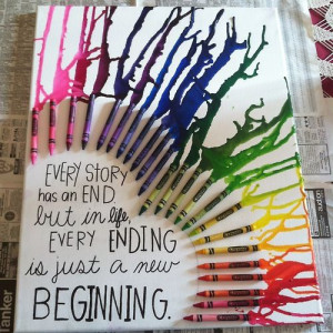 """11 thoughts on """" Crayon Art! """""""