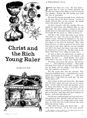 Quotes about christ of the rich quotesgram for Rich young ruler coloring page