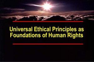 Universal Ethical Principles
