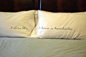His and Hers Pillows – Silhouette Cameo