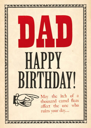 Happy Birthday Dad Quotes