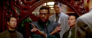 Chris Tucker, who portrays Detective James Carter , from