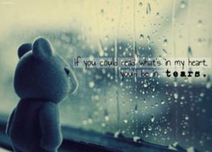heart, love, sad, tears, text, typography, writing