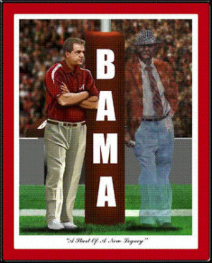 Roll Tide: Bear Bryant and Nick Saban