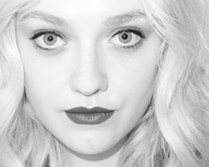 black and white, dakota fanning, dream, eyes, girl, hair, love, must ...
