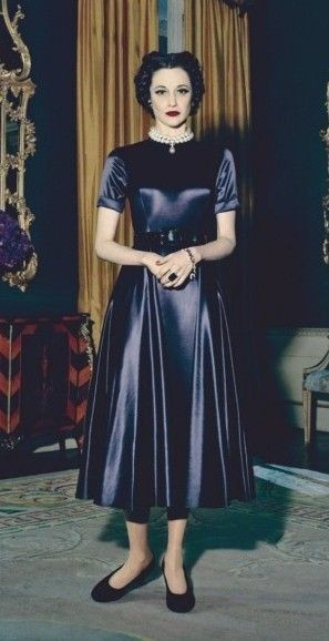 Andrea Riseborough as Wallis Simpson in W./E. (2011). Costume Designer ...