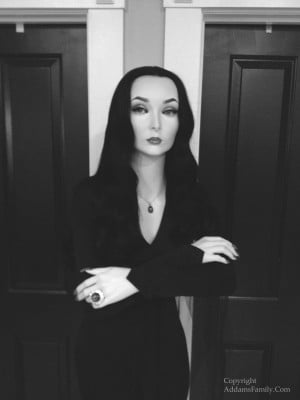 The Addams Family Morticia Dress