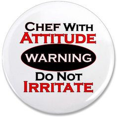 Warning - Chef With Attitude 3.5