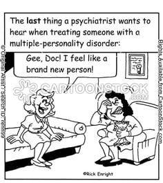 Multiple Personality Dissociative Identity Disorder