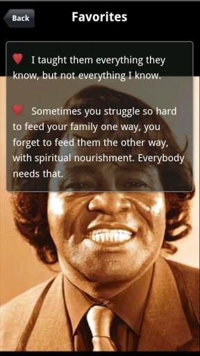 View bigger - James Brown Quotes for Android screenshot