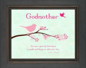 Personalized GODMOTHER Gift - Bapti sm Gift for Godmother - Gift from ...
