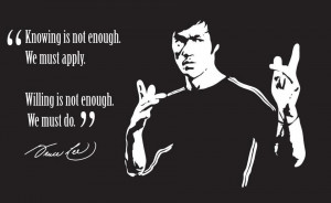 Life Lesson Bruce Lee Quote