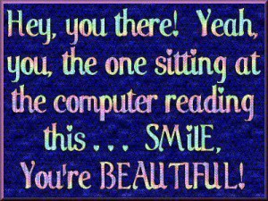 You are so beautiful ;)