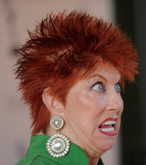 in show business in this photo marcia wallace actress marcia wallace