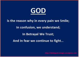 Quotes+About+Lying+And+Betrayal | GOD is the reason why in every pain ...
