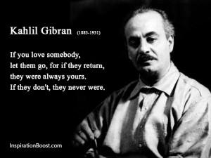 Kahlil Gibran Love Quotes