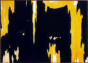 Clyfford Still, 1957-D No. 1 , 1957, oil on canvas, 113 x 159 in ...