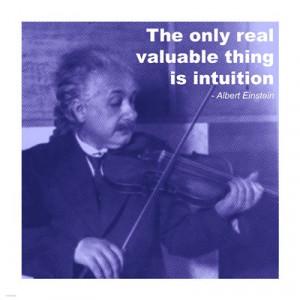 Einstein Intuition Quote More Info