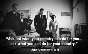 PHOTOS: Famous quotes from John F. Kennedy