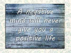 Details about Metal Sign Inspirational positive quote tin decorative ...
