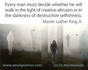 Walking In Altruism