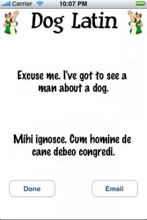 Download Atypical Latin Quotes - aka Dog Latin iPhone iPad iOS