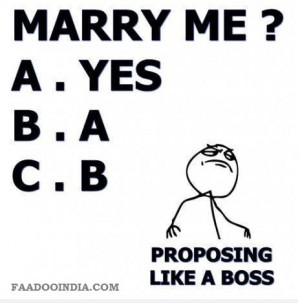 Best way to propose a girl to marry me