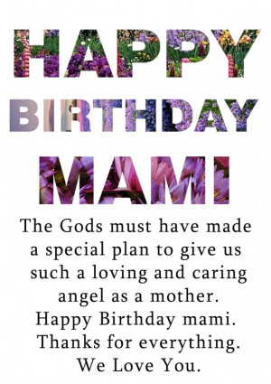 Birthday Quotes For Mom In Spanish Birthday Quotes For Mom In