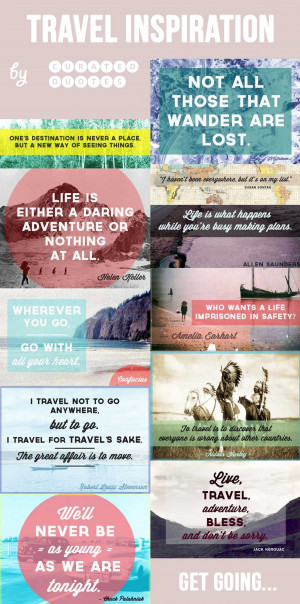 The 10 Best Travel Quotes Infographic