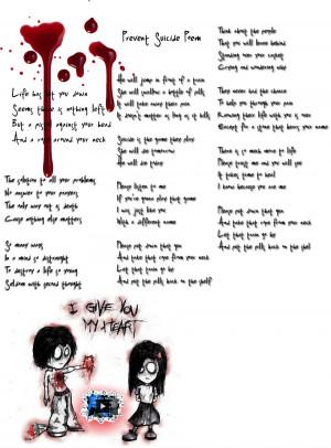 Prevent Suicide Poem