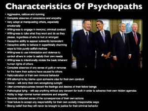 The Establishment Plagued with Sociopaths, Psychopaths and Useful ...