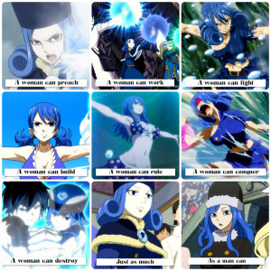 Fairy Tail .:A Woman Can:. Juvia Lockser by Flames-Keys
