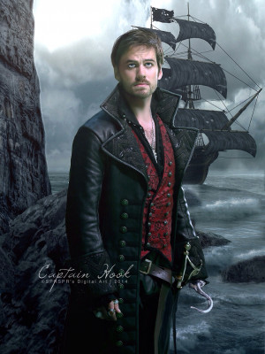 Captain Hook Once Upon A Time Wallpaper Captain hook ~ once upon a