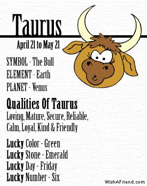 taurus astrology april 20 may 20 taurus strength keywords dependable ...