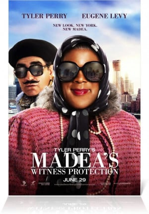 Film Poster - Madea's Witness Protection