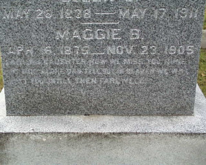Epitaphs at Greenwood Cemetery