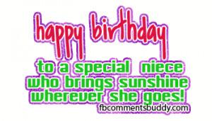 Happy Birthday Graphics For Facebook | Happy Birthday Niece Facebook ...