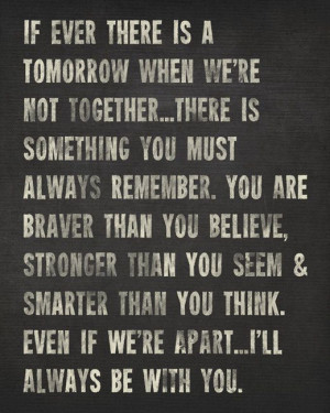 Aa Quotes Remember a.a milne quote