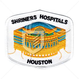 Shriners Hospitals Embroidered Patch